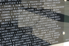 Jeff's name on the War on Terror Memorial - Copy