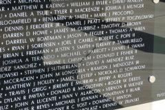 Jeff's name on the War on Terror Memorial - Copy